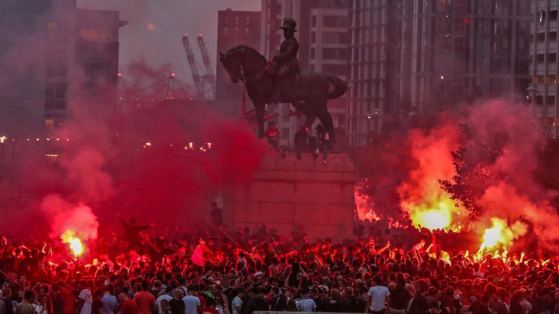Liverpool win EPL