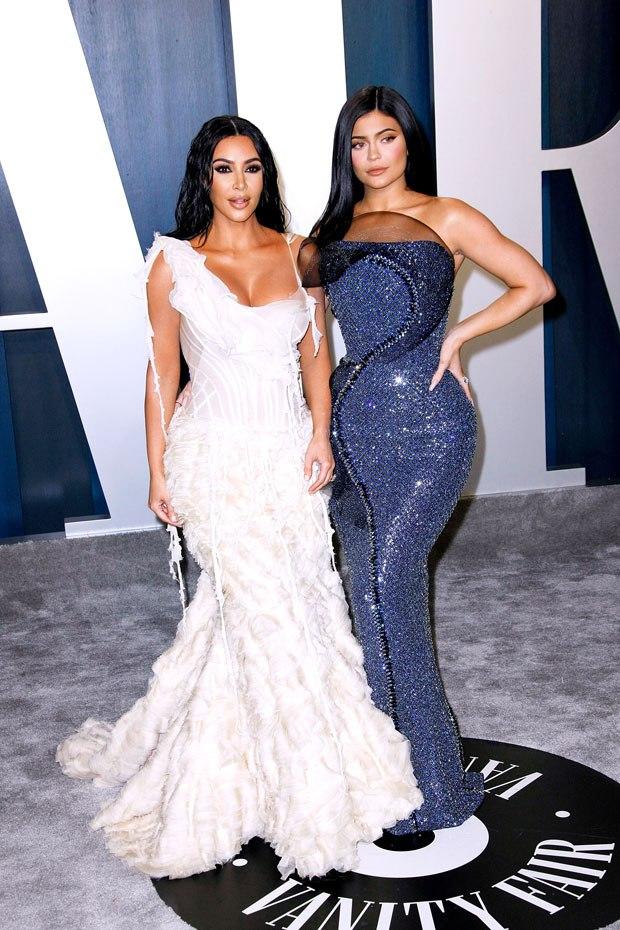 Kim Kardashian na Kylie Jenner